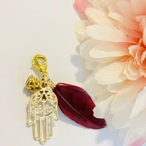 Face mask Charm Accessories feather